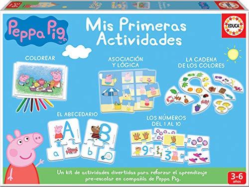 Educa - Mis Primeras Actividades Peppa Pig Juego Educativo para Bebés, Multicolor (17249)