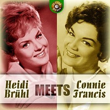 Heidi Brühl Meets Connie Francis