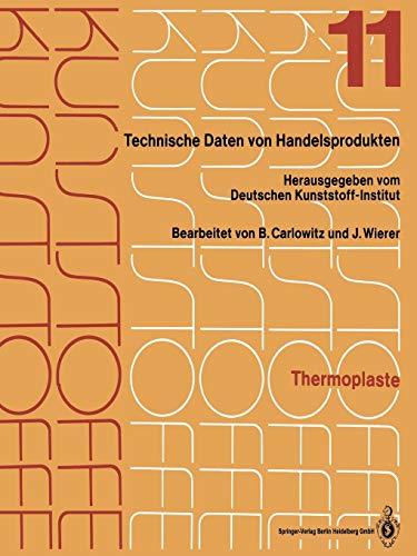 Thermoplaste: Merkblätter 4001–4400 (Kunststoffe, 1-12 / 1-12 / 11)