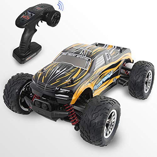 Remote Control Car, Fcoreey 4WD RC Cars 1:18 Scale 40km/h High Speed Racing Vehicle Electric Car,All Terrain Waterproof Hobby RC Crawlers for Kids and Adults