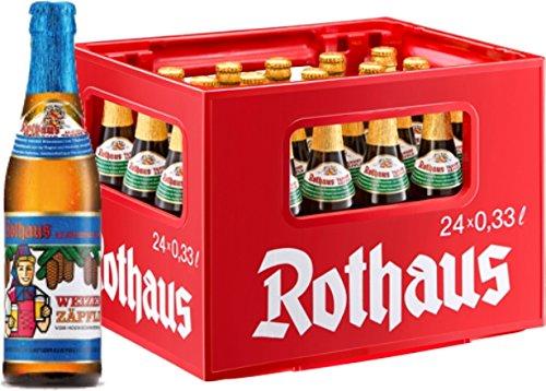 24 x Rothaus Hefeweizen Alkoholfrei 0,33 L Originalkiste MEHRWEG