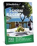 Wonderbox Cofanetto Regalo - 3 Giorni E 2 CENE Gourmet - Valido 3 Anni e 3 Mesi