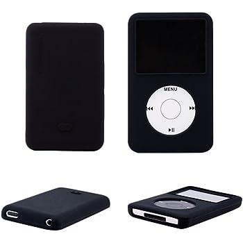 Zhhlaixing iPod classic 120G 80G 160G 3th ケース シリコンケース 耐衝撃 防塵保護 保護ケース 落下防止 防指紋 軽量TPU素材 軽量 シリコンケース カバー