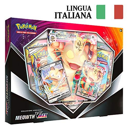 PoKéMoN Collezione Speciale Meowth VMAX in Italiano