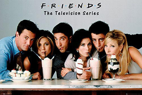 GB eye LTD, Friends, Milkshake, Maxi Poster, 61 x 91,5 cm