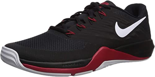 Nike Hommes's Lunar Prime Prime Prime Iron II paniers, noir blanc - Anthracite - Gym rouge, 8 Regular US 8ec