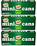Canada Dry Ginger Ale - 10pk/7.5 fl oz Mini Cans, total 30 cans