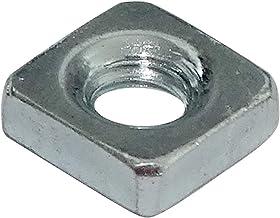 AERZETIX 100x Tuercas hexagonales M5 8mm H4mm DIN934 acero galvanizado C19215