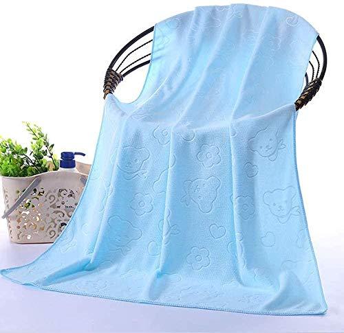 Toalla de baño de 70 x 140 cm, tamaño grande, súper absorbente, multiusos de secado rápido, máxima suavidad, lavable a máquina
