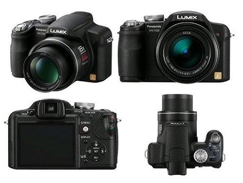 Panasonic FZ28K UK Digitalkamera Compact 10.1Megapixel, Zoom 18x schwarz