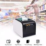 CRZJ Machine d'impression Thermique d'autocollant d'imprimante d'étiquette Thermique d'imprimante Thermique d'étiquette d'USB USB avec Le Port série d'USB