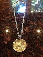 Dominican Republic 25 centavos coin necklace