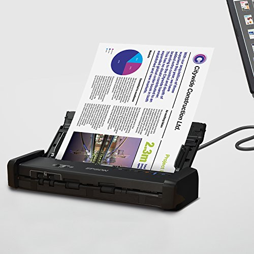 Epson Workforce ES-200 Color Portable Document Scanner with ADF for PC and Mac, Sheet-fed and Duplex Scanning (Renewed) Photo #4