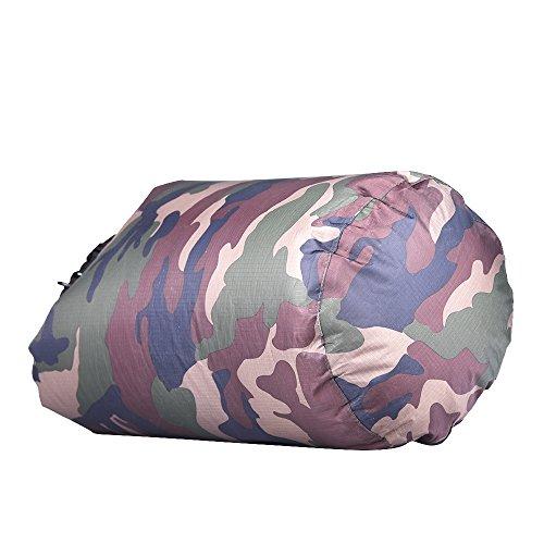 Sharplace Bolsa Impermeable de Almacenamiento Bolsa de Saco Seco para Canoa Kayak Rafting Camping Kit de Viaje Al Aire Libre - 80L