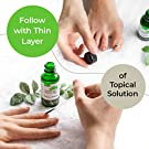 Toenail Fungus Treatment - Natural 2-Step Topical Anti-Fungal Solution with Oregano and Tea Tree Oil - Removes Yellow from Infected Finger & Toe Nails #4