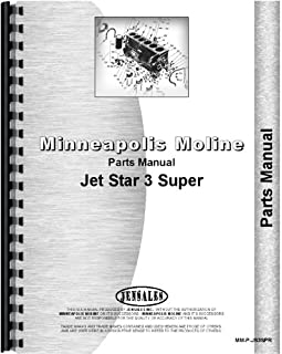 Minneapolis Moline Jet Star 3 Super Tractor Parts Manual