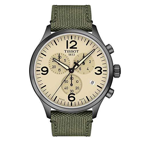Tissot Reloj Cronógrafo para Hombre de Cuarzo con Correa en Tela T1166173726700