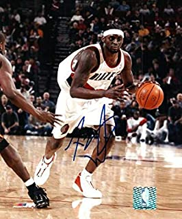 3c21f894edd Autographed Signed Darius Miles Portland Trail Blazers 8x10 Photo -  Certified Authentic