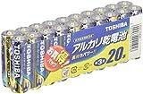 東芝 アルカリ乾電池 単3 20個