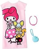 Barbie Hello Kitty My Melody Pink Dress Fashion Pack