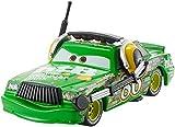 Disney Pixar Cars Vehículo Chick Hiks, coche de juguete (Mattel DXV48)