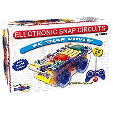Snap Circuits R/C Snap Rover Electronics Exploration Kit | 23 Fun STEM Projects | 4-Color Project Manual | 30+ Snap…