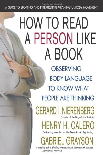 How To Read A Person Like A Book Kindle Edition By Nierenberg Gerard I Henry H Calero Gabriel Grayson Health Fitness Dieting Kindle Ebooks Amazon Com