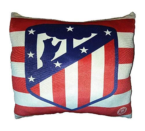 Atlético de Madrid-Cojines estampado Licencia Oficial del Club 35x35