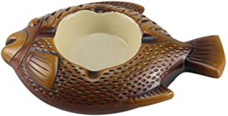 JIAJBG Novedad cenicero cerámica hogar impermeable multifuncional decoración moda durable hotel/B