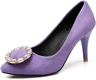 BalaMasa Womens APL11644 Pu Stiletto Heels