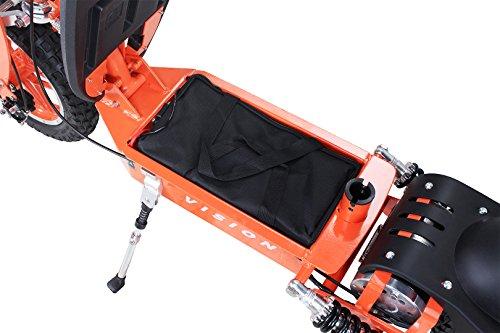 E-Scooter Roller Original E-Flux Vision mit 1000 Watt 36 V Motor Elektroroller E-Roller E-Scooter in vielen Farben (Orange) - 5