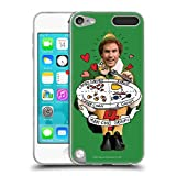 Official Elf Movie Buddy Food Groups Graphics 2 Soft Gel Case Compatible