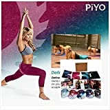 PiYo Base Kit 5 DVDs- Pilates Yoga Workouts Fitness Program with Fitness Tools and Nutrition Guide
