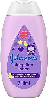 JOHNSON'S Baby Moisturising Lotion - Sleep Time, 200ml