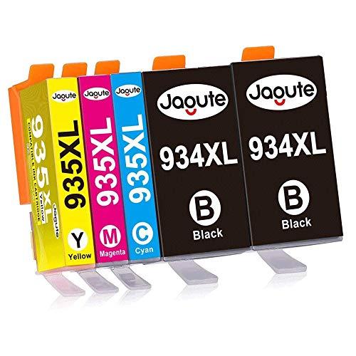 Jagute Cartucce Compatibile con HP 934 935 934XL 935XL per Stampante HP Officejet Pro 6812 6815 6820 6230 6830 6835 (2 Nero, 1 Ciano, 1 Magenta, 1 Giallo)