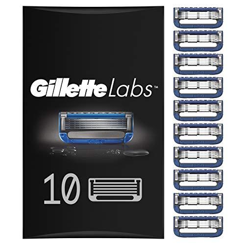 Gillette Labs Heated Razor Rasierklingen für beheizbaren Rasierer, 10 Ersatzklingen