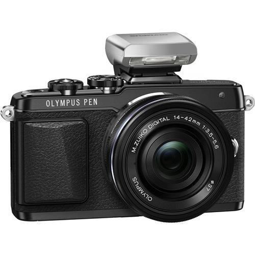 Olympus E-PL7 16MP Mirrorless Digital Camera with...