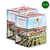 Confezione 2 Bag in Box Chardonnay Igt Venezia Giulia 5 litri – Lorenzonetto Friuli Venezia Giulia