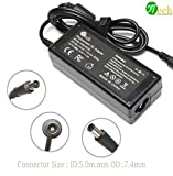 YTech 65W AC Power Adapter/Battery Charger for HP Probook 430 645 650 655 G1 G2,HP Pavilion G32 G42 G50 G60 G62 G70 G71 G72 PA-1650-02HN 2540p 2560p 2570p 2730p 2740p Laptop Charger Power Cord