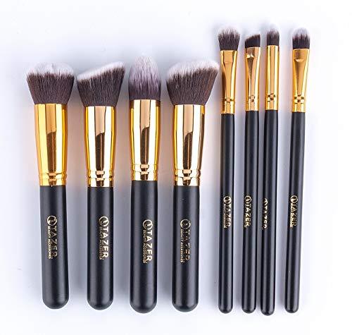 Tazer Kabuki Makeup Pinsel Set, Schminkpinsel, Kosmetik Makeup Pinsel Set für Eyeshadow, Concealer,...