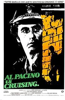 CRUISING movie poster AL PACINO COP after SERIAL KILLER gay bars NYC 24X36 (reproduction, not an original)
