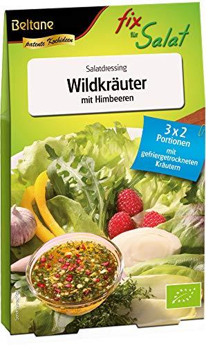 Beltane Bio Salatfix Wildkräuter mit Himbeeren, Bio (6 x 30g)