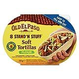 Old El Paso Stand n Stuff Soft Tortillas Flour, 2er Pack (2 x 193 g) -