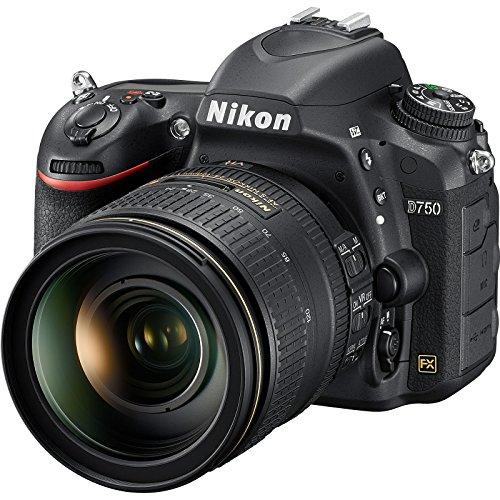 Nikon D750 Digital SLR Camera Body & AF-S 24-120mm f/4 G VR ED Zoom-Nikkor Lens (Renewed)