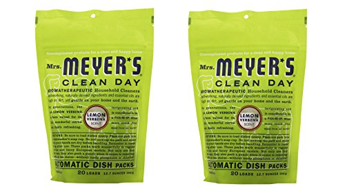 Mrs. Meyer's Clean Day Dishwasher Detergent Soap Packs (Pack of 2)