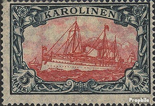 para proporcionarle una compra en línea agradable Prophila Collection Carolinas Carolinas Carolinas (alemán.colonia) 22II B 1919 Barco yate del emperador Hohenzollern (sellos para los coleccionistas) marinegro  tienda en linea