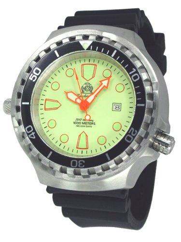 Tauchmeister 1937T0269Tauchmeister T0269–Armbanduhr, Armband Polyurethan Farbe schwarz