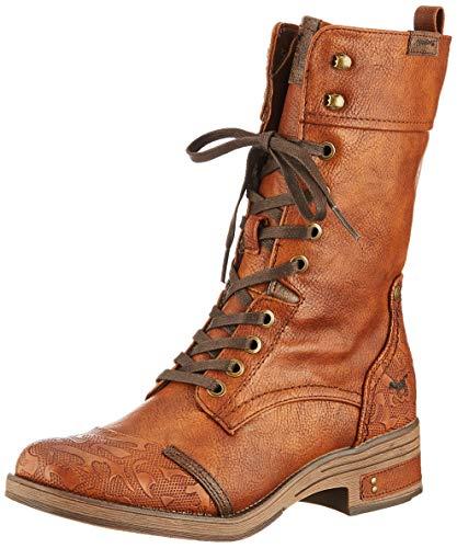 MUSTANG Damen Stiefel Braun (Cognac), Schuhgröße:EUR 45