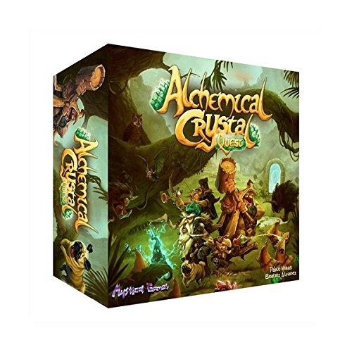 Mystical Games Alchemical Crystal Quest (Castellano) Juego DE Mesa: Amazon.es: Juguetes y juegos