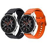Syxinn Compatibile con 22mm Cinturino Galaxy Watch 46mm/Gear S3 Frontier/Classic Braccialetto...